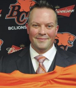 Surrey, BC: MARCH 07, 2014 -- BC Lions centre Angus Reid announces his retirement at the BC Lions training facility in Surrey, BC Friday, March 7, 2014.  (Photo by Jason Payne/ PNG) (For story by Cam Cole)  [PNG Merlin Archive]